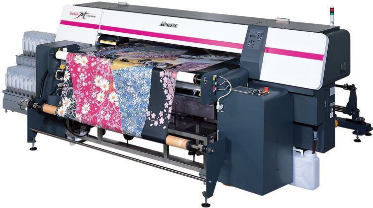 Mimaki TX400-1800B - new adhesive belt-equipped large format