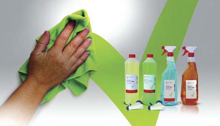 The ImagePerfect branded cleaning and material preparatory fluids starter kit.