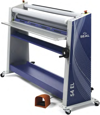 The SEAL 54 EL entry-level roll laminator.
