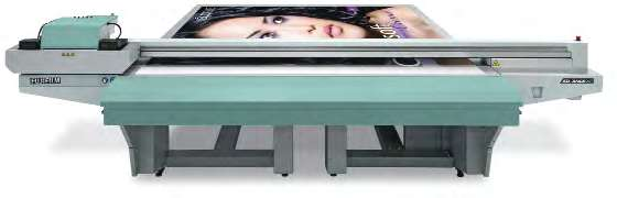 The latest Acuity HD2565 series of wide format UV inkjet printer.