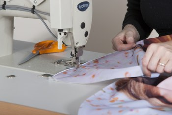 sewing banners using Texsew
