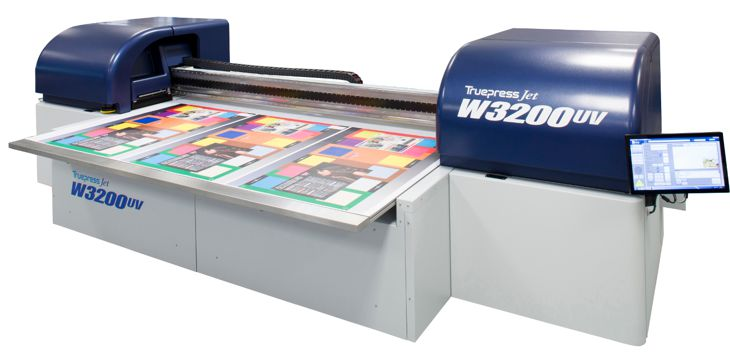 Truepress-jet-W3200UV is new from Screen