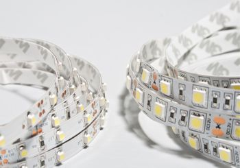strips of LEDs