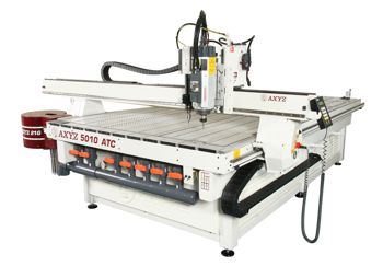 The 5010 woodworking CNC router model