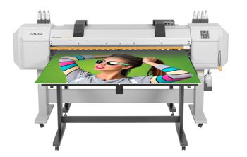 Mutoh ValueJet 1627MH with foldable rigid print table