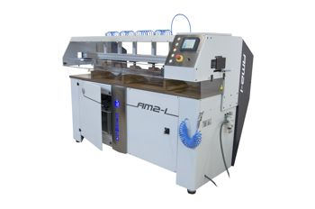 Awltech diamond edge polishing machine AM2/AMI series being displayed