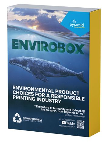 Envirobox environmentally friendly products on display