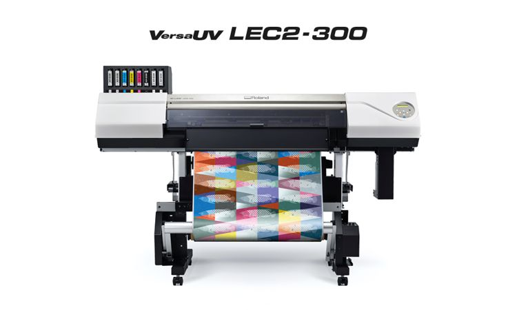 Roland VersaUV LEC2-300 wide format printer/cutter