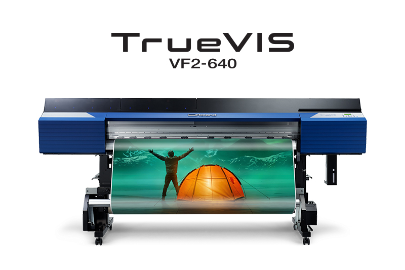 The Roland TrueVIS VF2-640 wide format printer