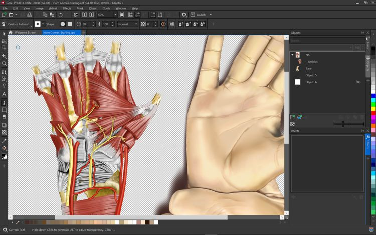 Screenshot of CorelDRAW Technical Suite 2020