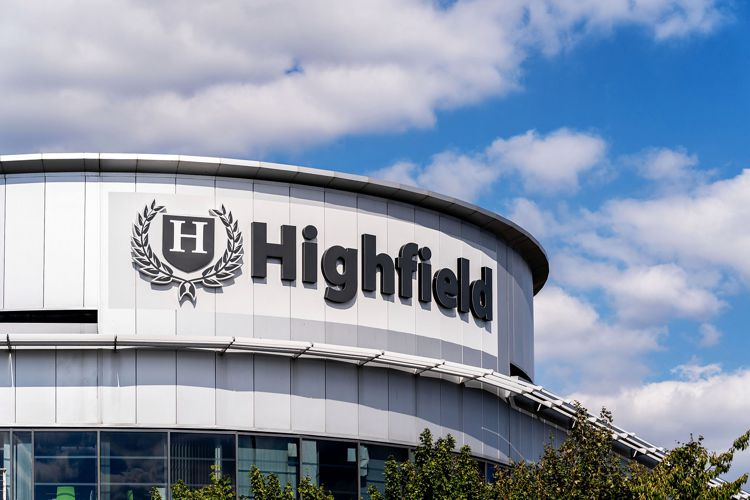 External Signage on the new building for Highfield Group.