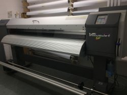 Mutoh Valuejet 1614 [4 colour CMYK] wide format, eco-solvent digital printer.