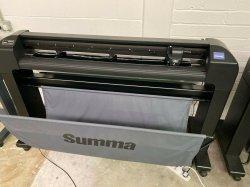 Summa 120 S2 T Series Vinyl Cutter Plotter Stand & Media Basket