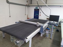 Various Zund Flatbed Digital Cutters, inc L-2500cv with router module, M-1200, M-1200CV