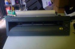 Roland CX24 Vinyl cutter T-shirt & sign making equipment