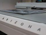 Canon printer called the Océ Arizona 1300 flatbed printer