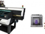 The Mimaki 3DFF 222 3D printer printing something