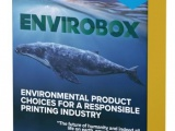 The Envirobox environmentally friendly products on display
