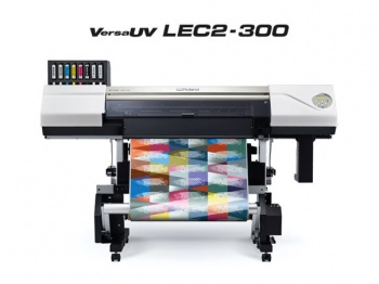 Roland VersaUV LEC2-300 wide format printer/cutter.