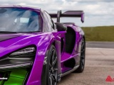 """A new range of custom colours from Avery Dennison's Supreme Wrapping Film range developed for Spandex, comprises 10 metallic colours with names """"inspired by the glamour and energy of motor racing""""."""