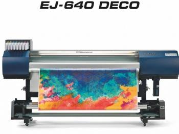 The Roland EJ-640 wide format printer.