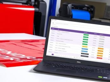 Laptop computer showing SAi SideKick software