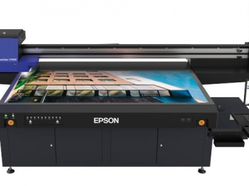 Epson SureColor SC-V7000 large format flatbed UV LED printer