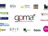 GPMA logo surrounded by the members logos