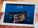 The Roland EMEA Virtual Showroom on a tablet.