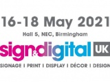 Sign & Digital UK updated logo to reflect the new date.