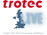 Logo for Trotec Virtual Laser Exhibition