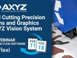 Promotional banner promoting the Axyz Vision System