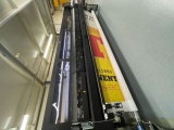 The HP Latex 1500 Wide format printer installed at Scot Signs.
