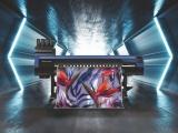 The Mimaki TS100-1600 wide format textile printer