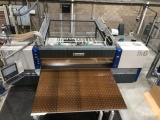 The Schelling industrial beam saw bought by Perspex Distribution