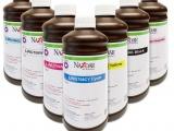 Bottles of Nazdar ink for wide format printers