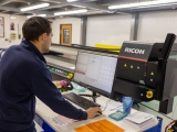 Ricoh PRO-TF6250 Series UV flatbed printer