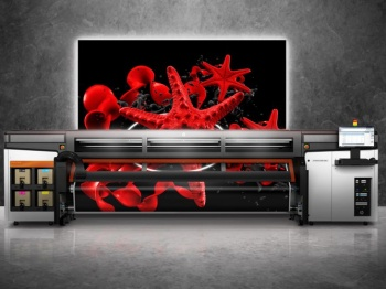 The HP Stitch S1000 Printer for Soft Signage and Interior Décor