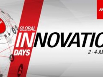 Promotional graphic promoting the Mimaki Innovation days.