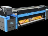 Vulcan RTR high-speed 3.2m-wide roll-to-roll UV flatbed inkjet printer