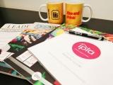 IPIA Promotional literature and mugs
