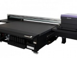 Mimaki's newest LED-UV large format flatbed inkjet printer, the JFX600-2513, made its debut at the Mimaki Innovation Days event