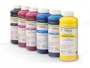 New Nazdar 566 Series designed specifically for use in Oki™ Colorpainter M-64 LCIS Digital Printers using Oki WX IP6 Inks.
