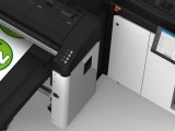 The HP Latex R2000 Plus installed at JKN Digital