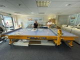 A BubbleFree Pro flatbed applicator table from Josero.